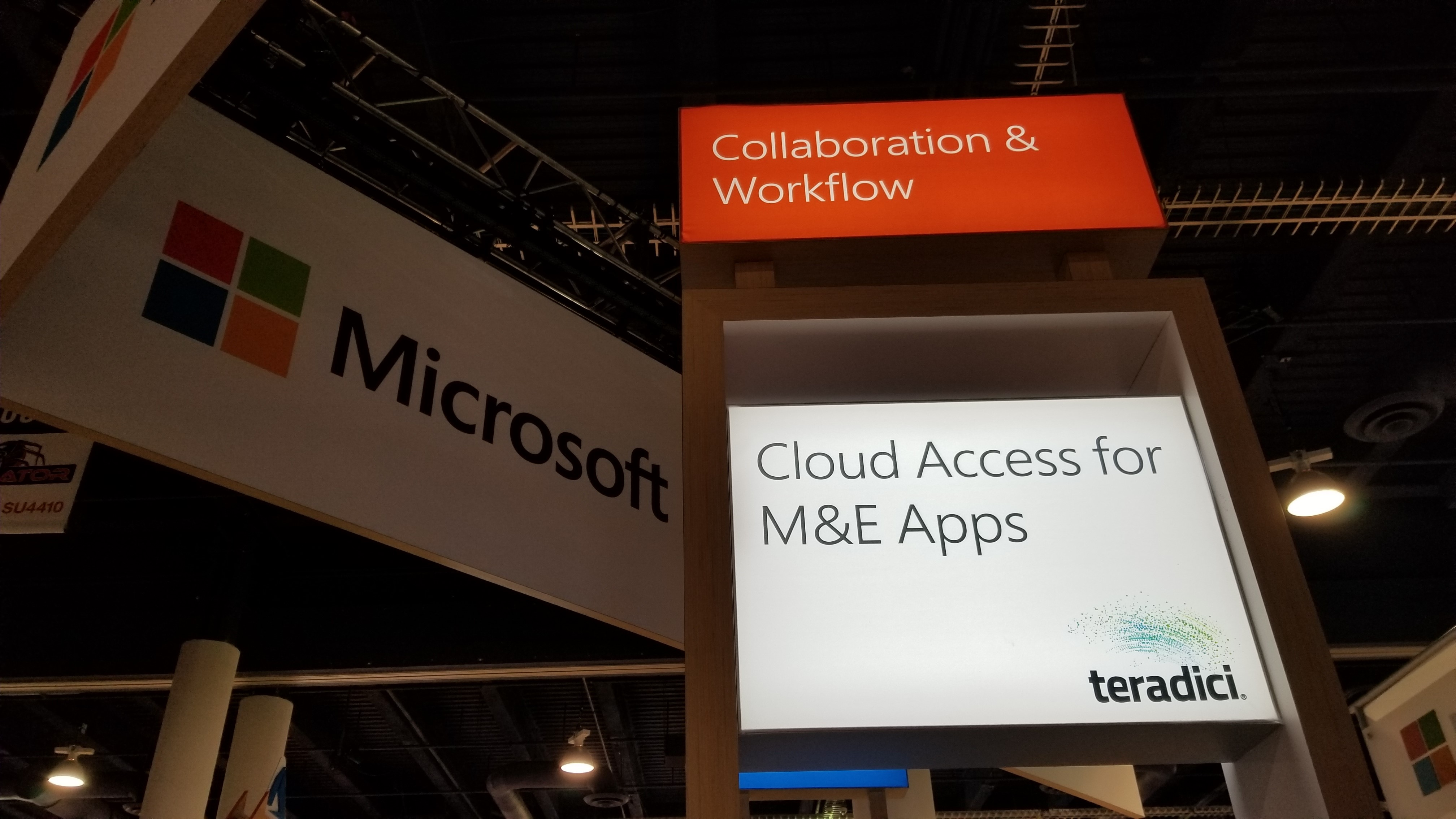 MSFT booth