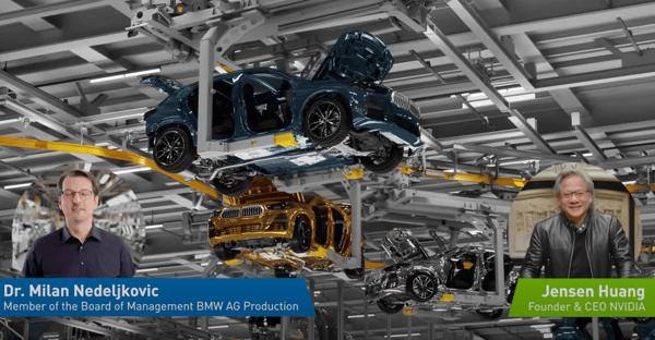 NVIDIA video BMW